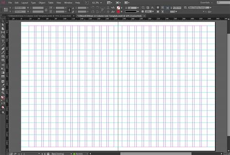 indesign grid template free indesign 228mmx304mm 12 column grid template crs