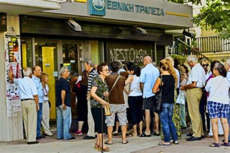 wie lange überweisen banken vor der 214 ffnung der griechischen banken bildeten sich wie