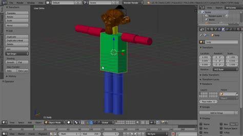 blender 3d robot tutorial blender tutorial beginner s character animation monkey