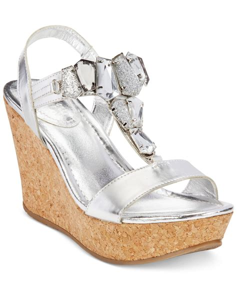 kenneth cole reaction wedge sandals kenneth cole reaction sole lites platform wedge sandals in