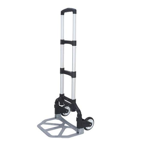 Compact Sit Shopping Cart by Compact Aluminium Folding Push Cart Portable Travel
