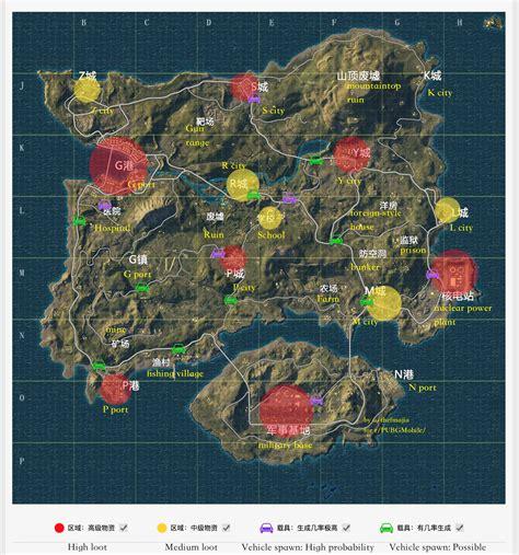 maps for mobile pubg mobile lightspeed map translation pubgmobile