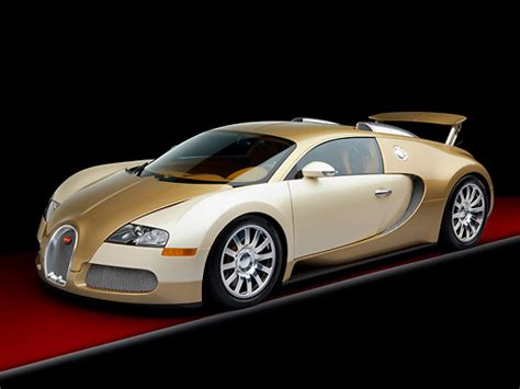 bugatti gold and white veyron car stock photos kimballstock
