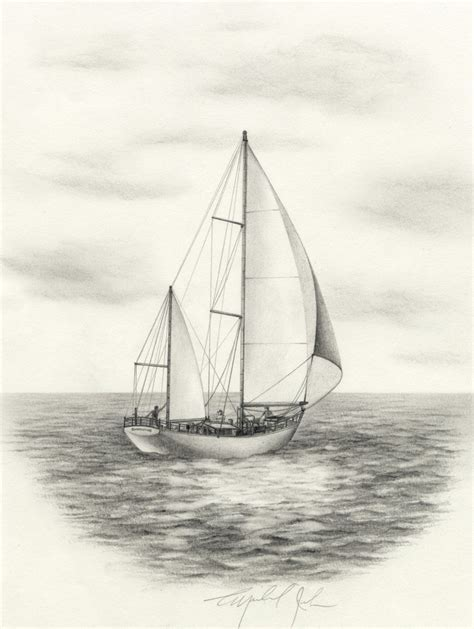 boat drawing sailboat drawing google search culture pinterest