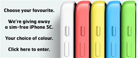 Win Iphone 5c Giveaway - win an iphone 5c from mobile fun mobile fun blog