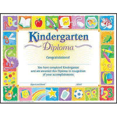 trend enterprises templates kindergarten diploma certificate templates