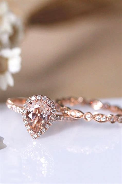 best 25 pink engagement rings ideas on pink