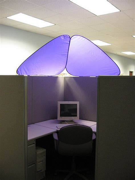 cubicle overhead light shade 30 best images about cubicle corner on pinterest