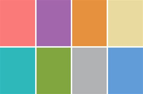 Spring Color Schemes | jilly jack designs spring color palette
