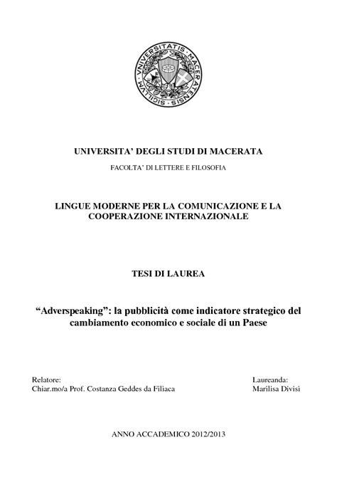 lettere moderne macerata universita degli studi di macerata facolta di lettere e
