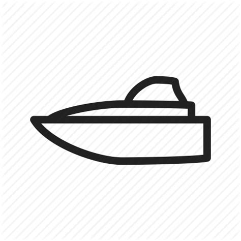 fast boat icon boat lifestyle luxury speed speedboat water yacht