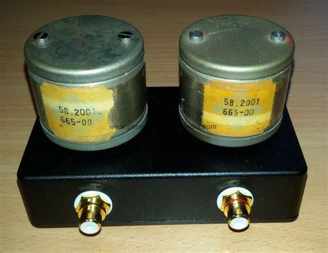 german vintage audio  transformers telefunken   box