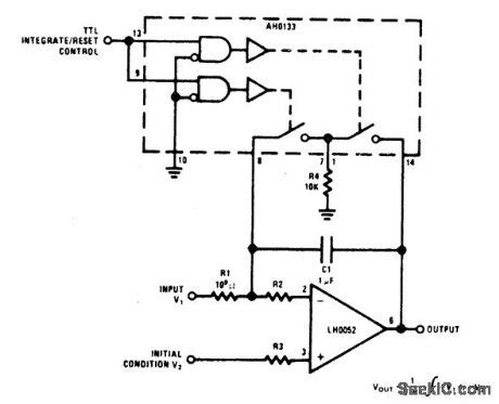 op integrator reset op integrator reset circuit 28 images solutions temperature to frequency converter