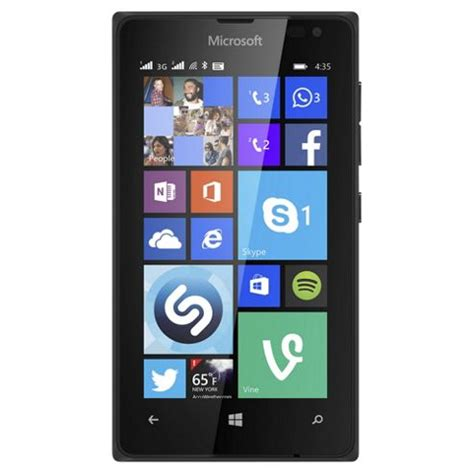 mobile phone tesco buy tesco mobile microsoft lumia 435 black from our pay as
