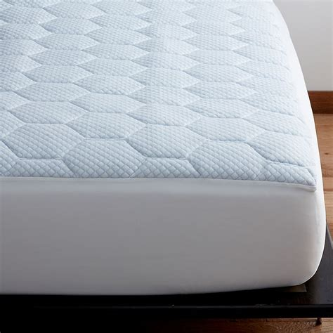 gel pad for bed cooling gel memory foam mattress pad the company store