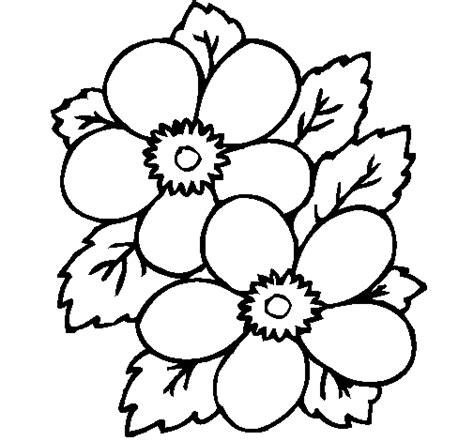 imagenes de flores animadas para colorear dibujo de flores 1 para colorear dibujos net