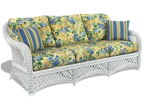 Replacement Cushions For Rattan Sofa by Wicker Sofa Cushions Wicker Paradise
