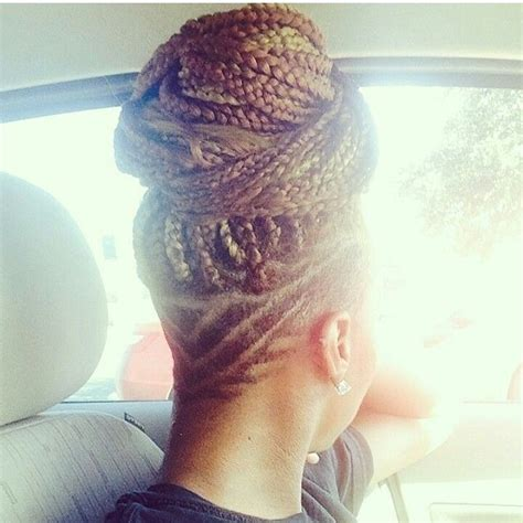 braids with shaved head 201 best braided up images on pinterest protective
