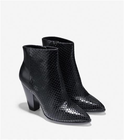 cole haan vestry boot in black lyst