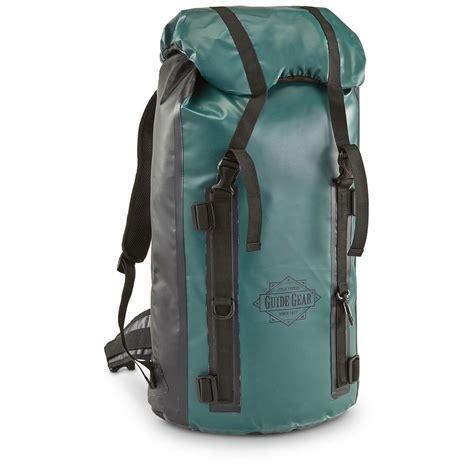 backpack waterproof guide gear waterproof bag backpack 657773 gear