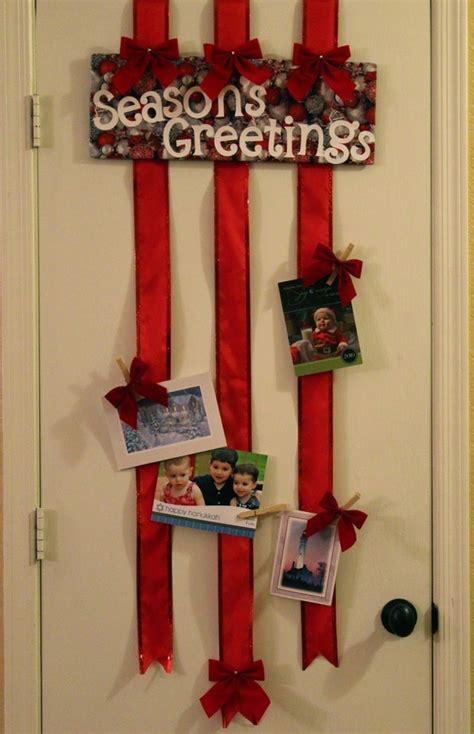 christmas card display christmas card display crafts pinterest