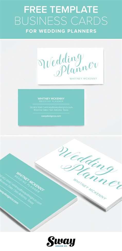 Business Card Templates For Unemployed by Free Printable Blue Turquoise Script Business