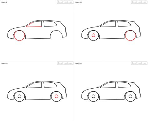 how to draw a car 8 steps with pictures wikihow how do you draw a car step by step pencil drawing