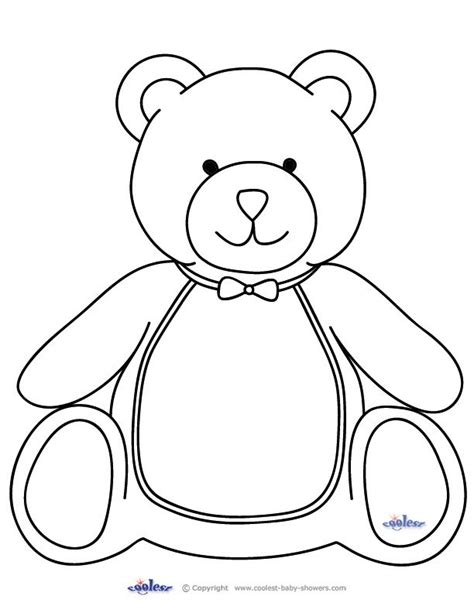 25 best ideas about teddy template on