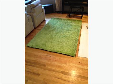 ikea green shag rug ikea green shag hen rug 133cm x195cm saanich mobile