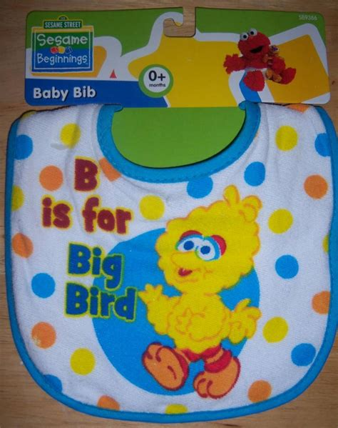 Sesame Baby Shower by New Baby Shower Sesame Terry Bib Elmo Cookie