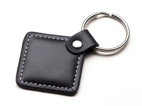 Key Chain rc leather key chain 01 rudra creations corporate