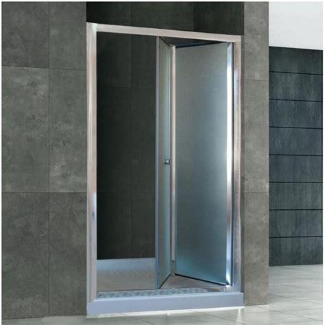 porte in vetro per doccia porta doccia per nicchia apertura a soffietto o libro