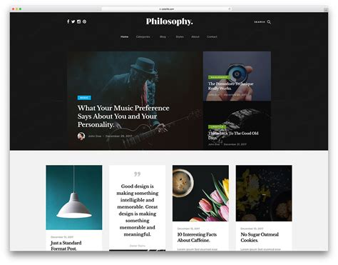 29 Best Free Bootstrap Blog Templates 2019 Colorlib Free Project Website Templates
