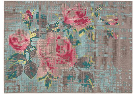 urquiola tappeti canevas flower by gan by gandia blasco stylepark