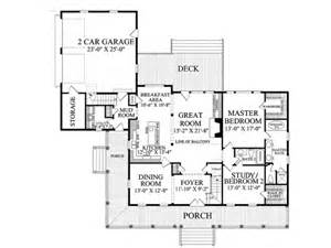 Floor Plans With Porches One Story House Plans With Porch