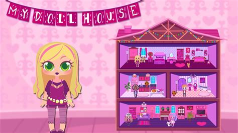 doll house design  decoration game  iphone