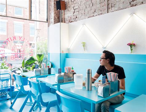 blue restaurant vietnamese restaurant phamily kitchen archdaily