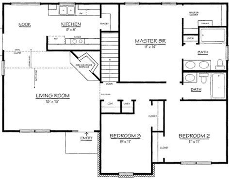 Sample Floor Plans With Dimensions by Sample House Plans With Dimensions House Design Ideas
