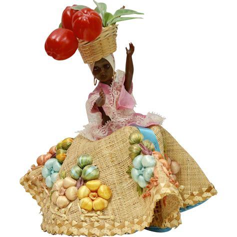black doll 1950s 1950s quot chiquita quot souvenir black doll from st