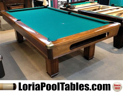Sold Pre Owned 8ft Brunswick Hawthorn Pool Table Loria