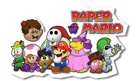 paper mario fan paper mario fan partners by sindorman on deviantart