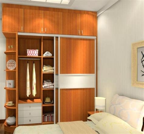 designs for small bedrooms built in wardrobe designs for small bedroom images 08