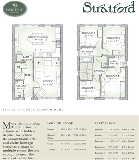post stratford floor plans 4 bedroom detached house for sale in royal british legion