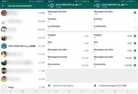 whatsapp imagenes tra whatsapp te permite liberar memoria de cada grupo o chat