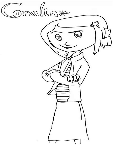 coraline coloring pages coraline coloring pages coloring home