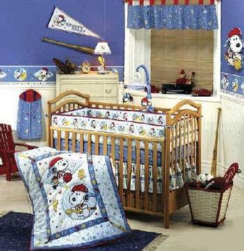 Peanuts Crib Bedding Sport Snoopy Baby Cake Ideas And Designs
