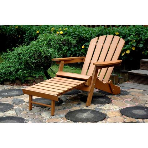 shop havenside home langley faux wood adirondack chair