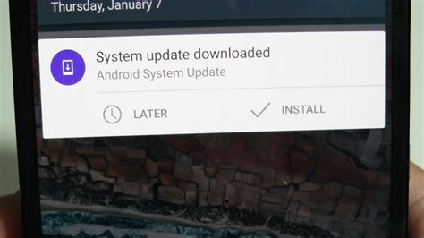 tutorial android update get rid of ota software update notification 4mobiles net