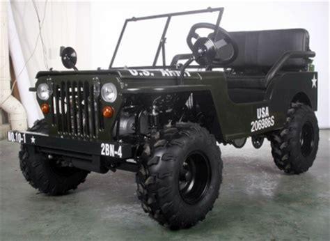 Multi Unit Home Plans by Jeep Willy S Mini Go Kart Paz125 1 125cc Motobuys Com