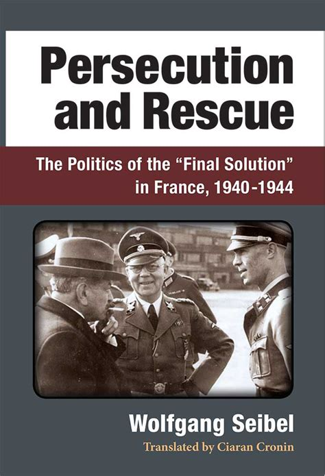 libro final solution the fate persecution and rescue